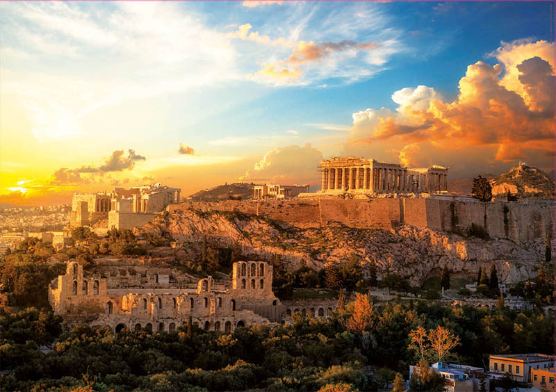Puzzle Educa Acrópolis de Atenas de 1000 Piezas