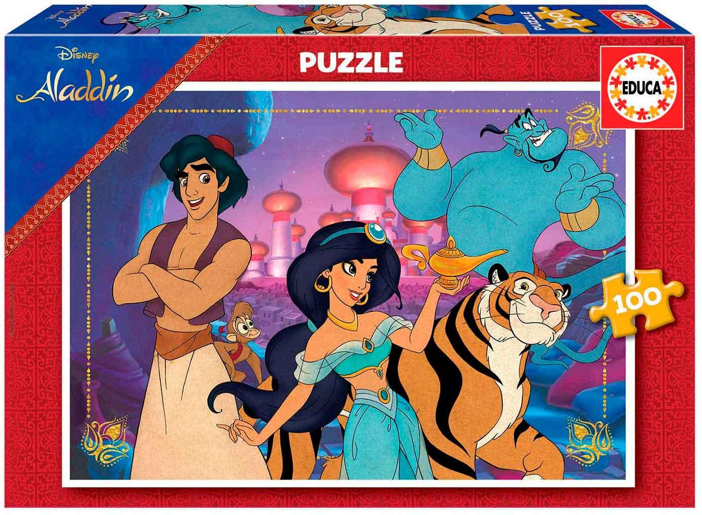 Puzzle Educa Aladdin de 100 Piezas