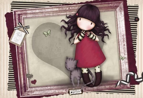 Puzzle Educa Gorjuss, Amor Perfecto de 1000 Piezas