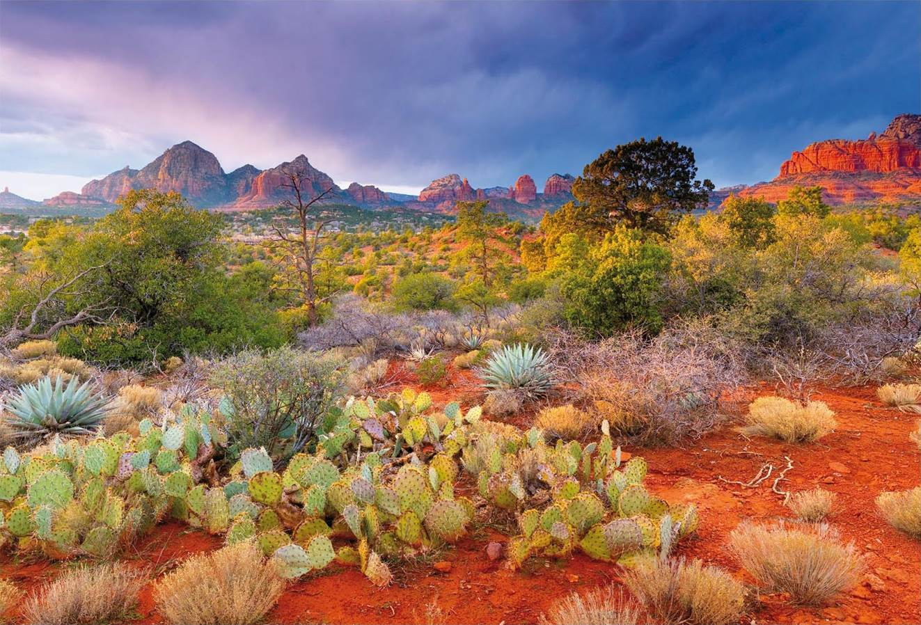 Puzzle Educa Atardecer en Red Rock, Arizona, EEUU de 4000 Piezas