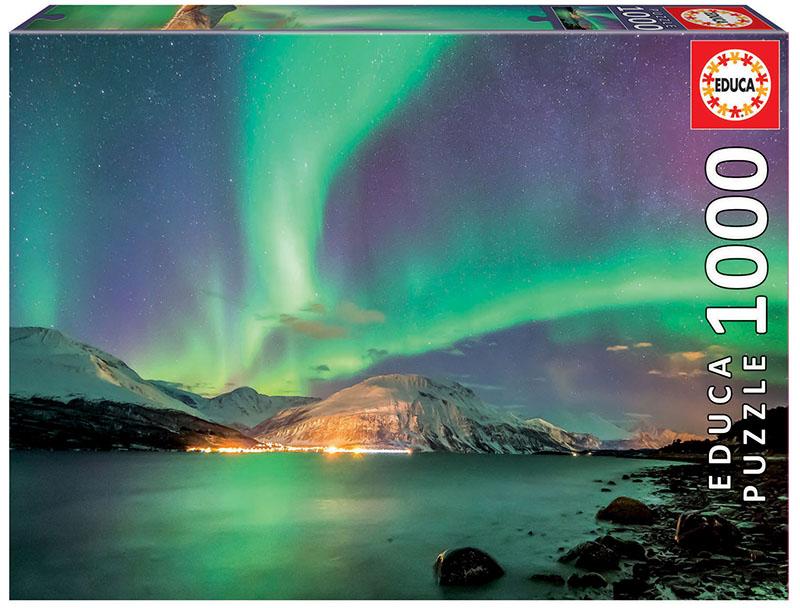 Puzzle Educa Aurora Boreal de 1000 Piezas