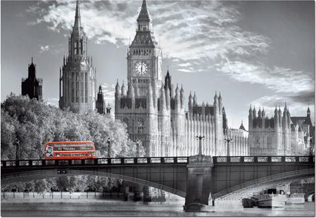 Puzzle Educa Autobús Londinense de 1000 Piezas