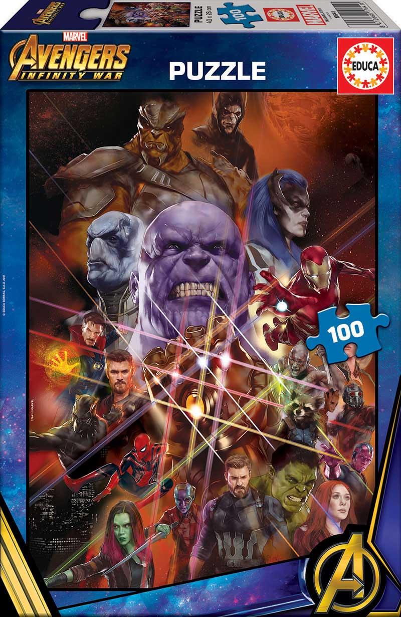 Puzzle Educa Avengers: Infinity War de 100 Piezas