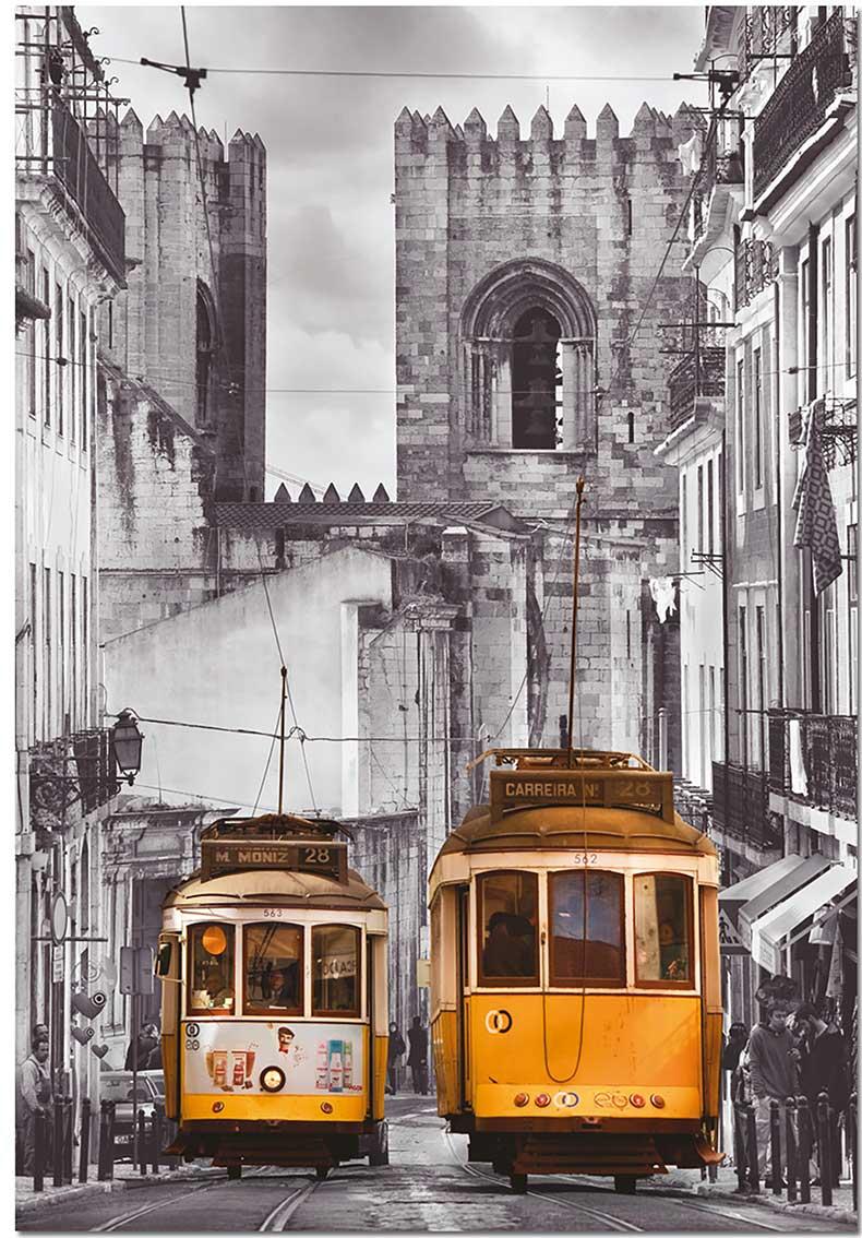 Puzzle Educa Barrio de Alfama, Lisboa de 1500 Piezas