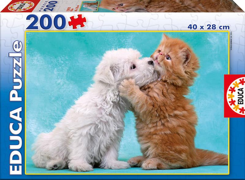 Puzzle Educa Besos y Abrazos de 200 Piezas