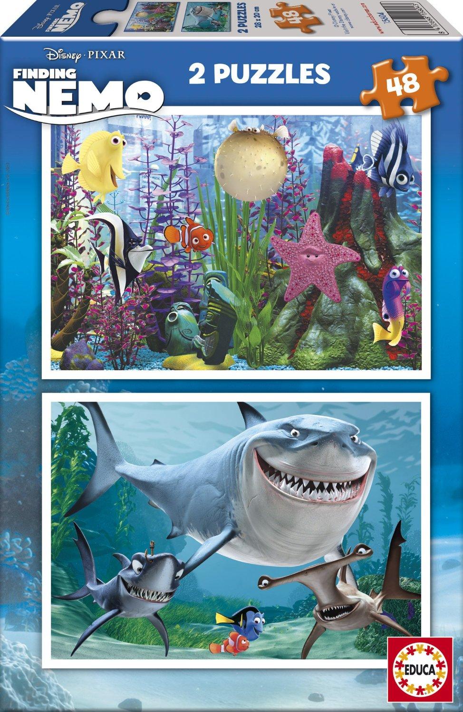 Puzzle Educa Buscando a Nemo 2 x 48 2 x 48 Piezas