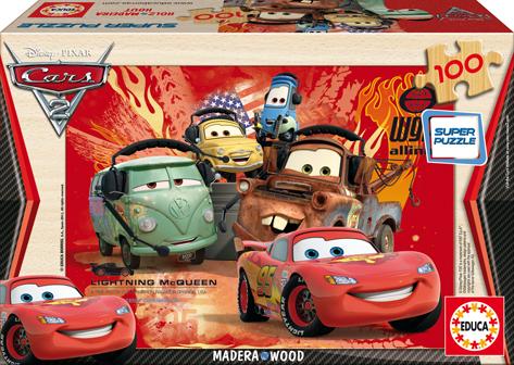 Puzzle Educa Cars 2 de 100 Piezas