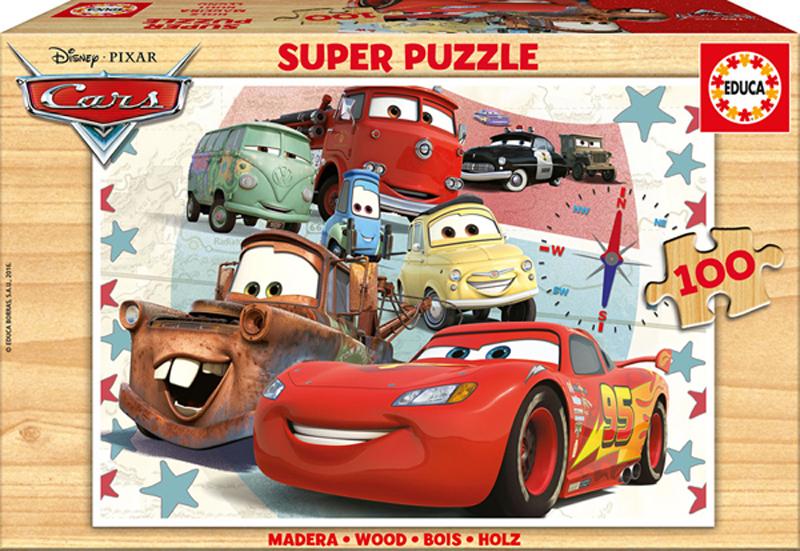 Puzzle Educa Cars de 100 Piezas