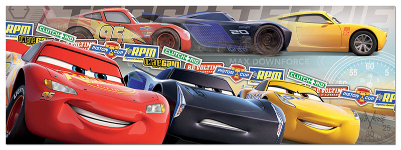 Puzzle Educa Cars Panorama de 1000 Piezas