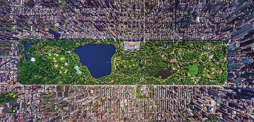 Puzzle Educa Central Park, nueva York de 3000 Piezas