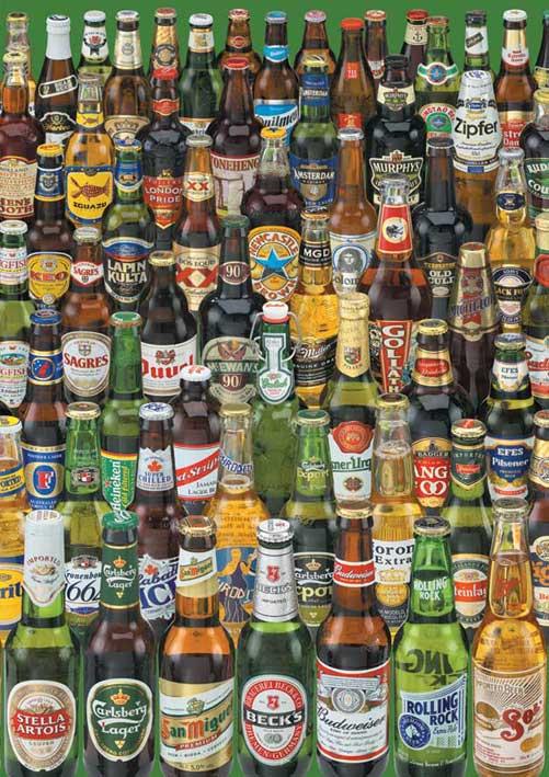 Puzzle Educa Cervezas de 1000 Piezas