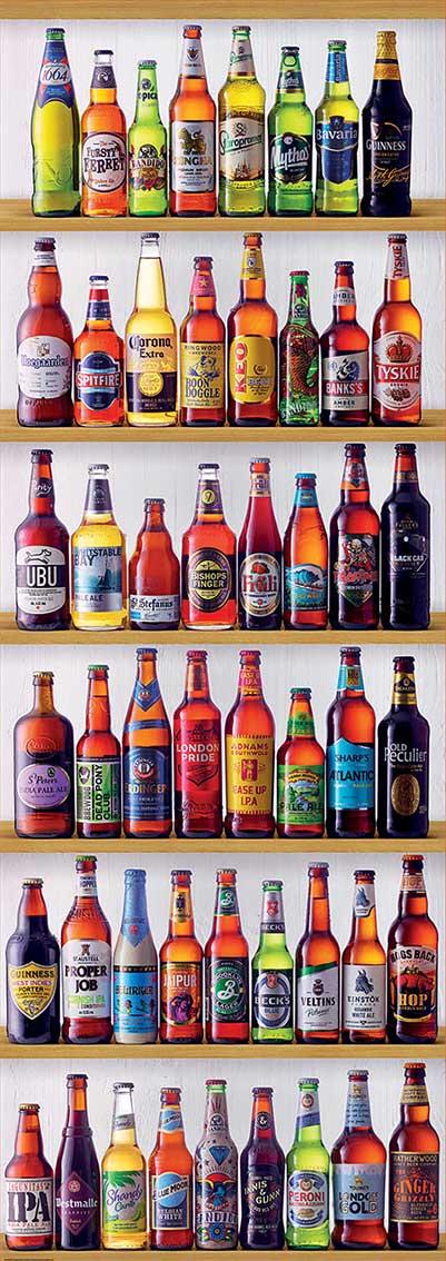 Puzzle Educa Cervezas del Mundo de 2000 Piezas