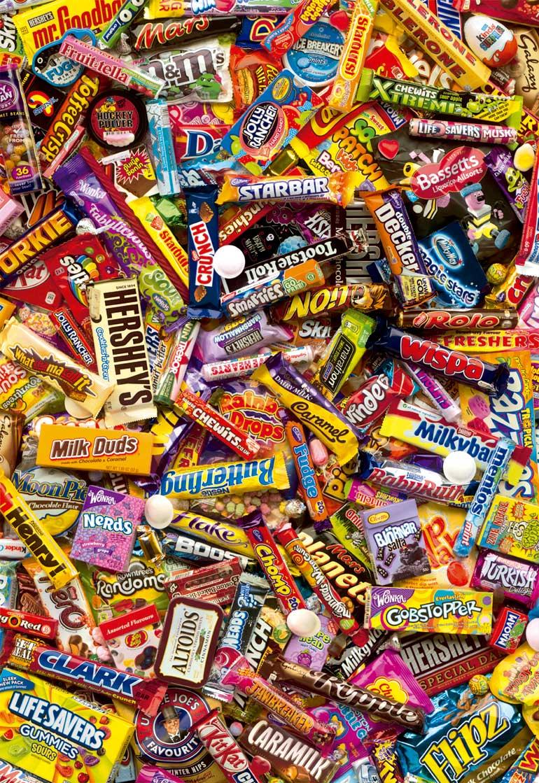 Puzzle Educa Chocolatinas de 500 Piezas