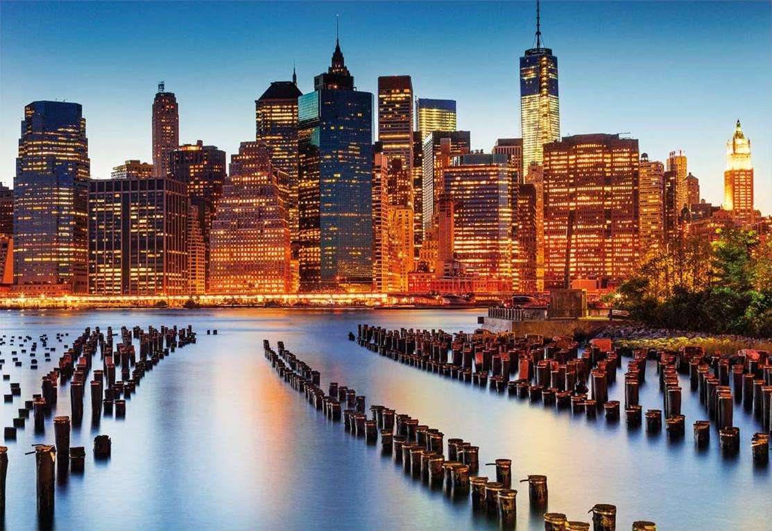 Puzzle Educa Ciudad de los Rascacielos de 1000 Piezas
