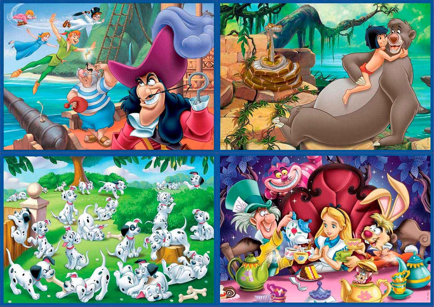Puzzle Educa Clásicos Disney Multi Progresivo 50+80+100+150