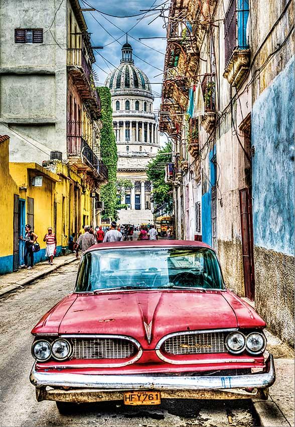 Puzzle Educa Coche en la Habana 1000 Piezas