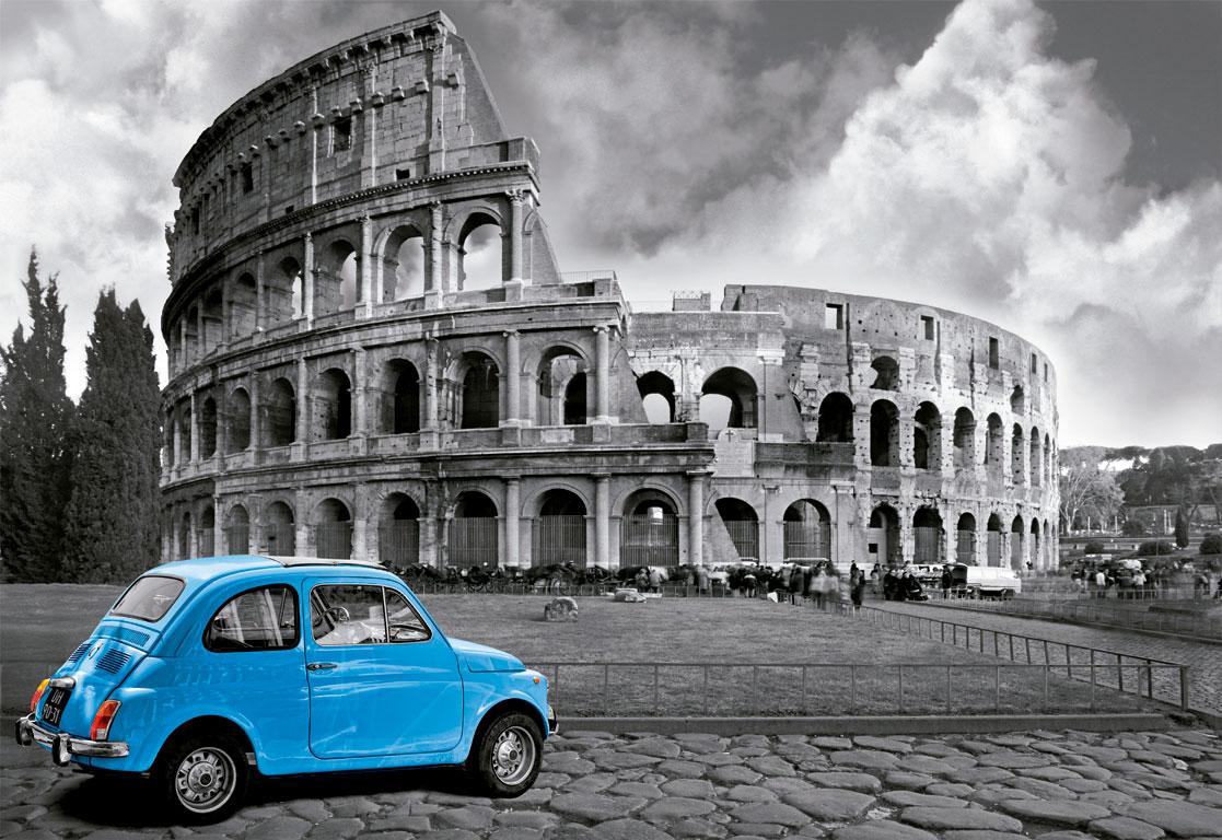 Puzzle Educa Coliseo, Roma de 1000 Piezas