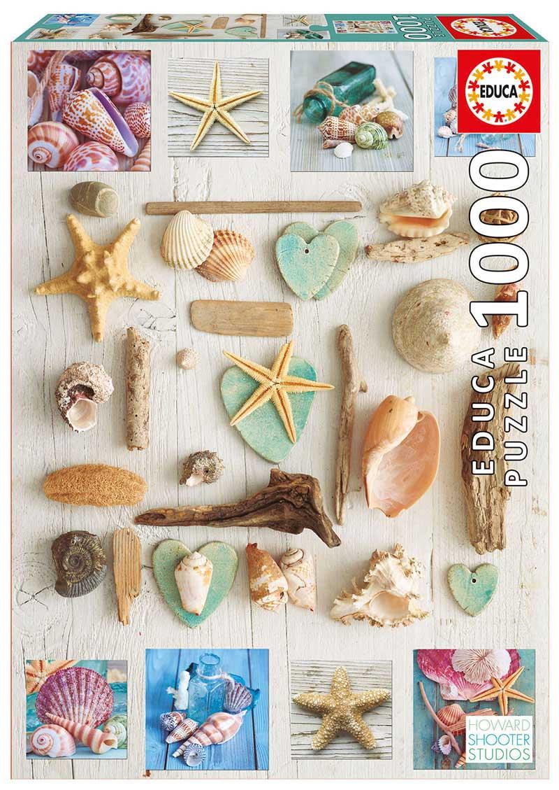 Puzzle Educa Collage de Caracolas de 1000 Piezas