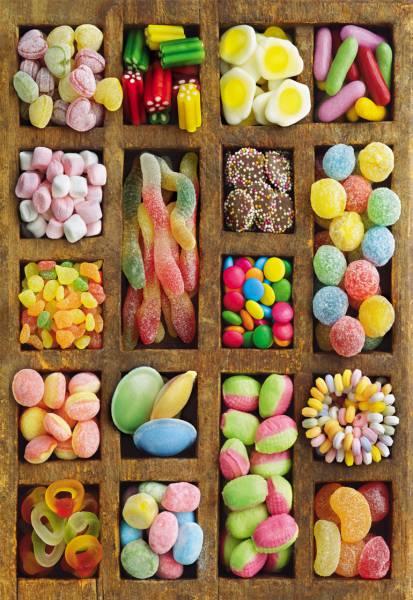 Puzzle Educa Collage de Golosinas de 500 Piezas
