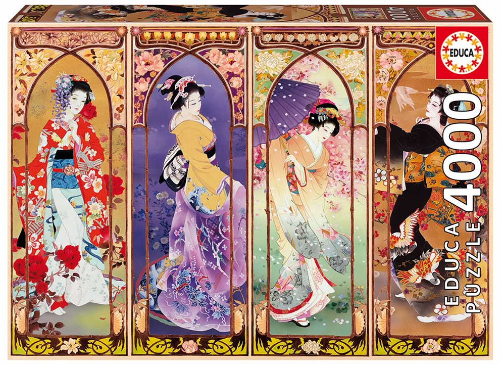 Puzzle Educa Collage Japonés de 4000 Piezas