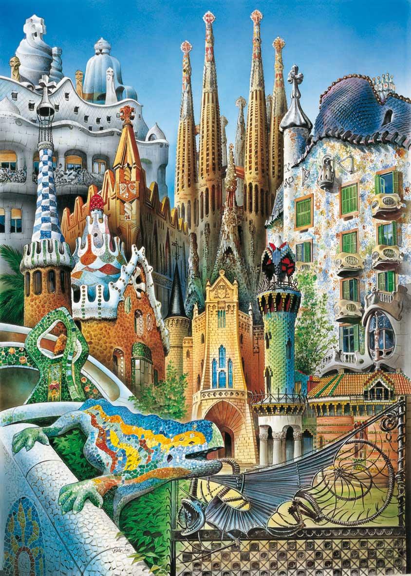 Puzzle Educa Collage (Piezas Miniaturas) de 1000 Piezas