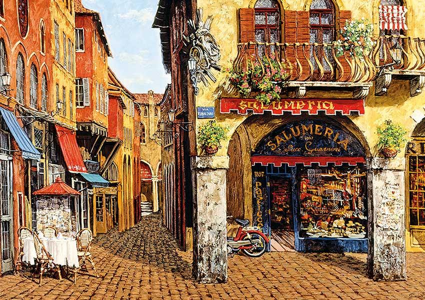 Puzzle Educa Colores de Italia, Salumeria 1500 Piezas