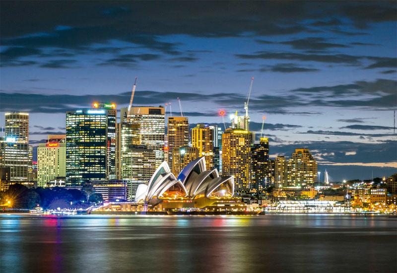 Puzzle Educa Crepúsculo en la Ciudad de Sidney de 1000 Piezas