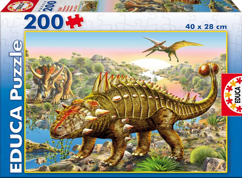 Puzzle Educa Dinosaurios de 200 Piezas