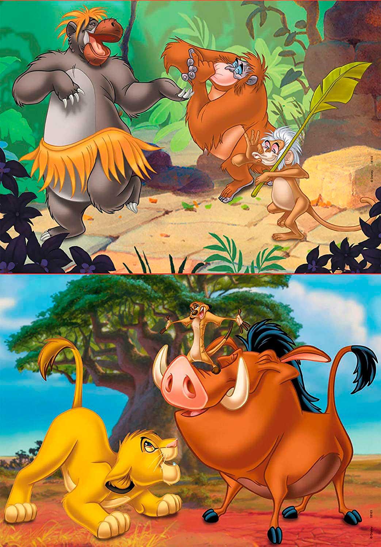 Puzzle Educa Disney Animals 2 x 20 Piezas