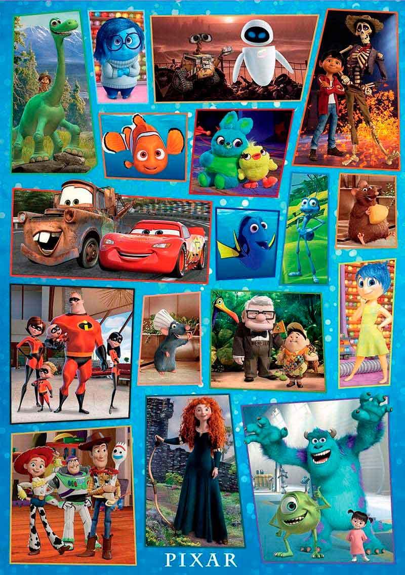 Puzzle Educa Disney Pixar Family 1000 Piezas