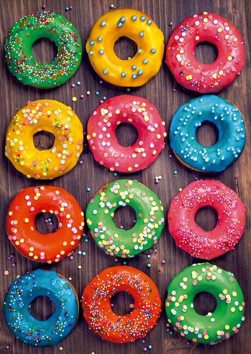 Puzzle Educa Donuts de Colores 500 Piezas