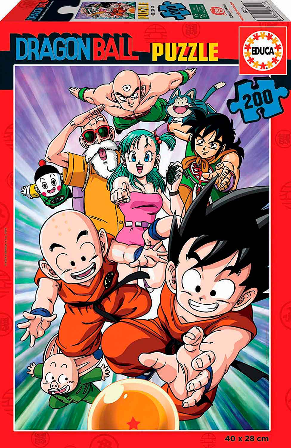 Puzzle Educa Dragon Ball de 200 Piezas