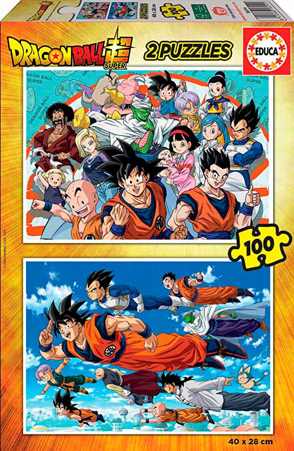 Puzzle Educa Dragon Ball Super 2 x 100 Pzs