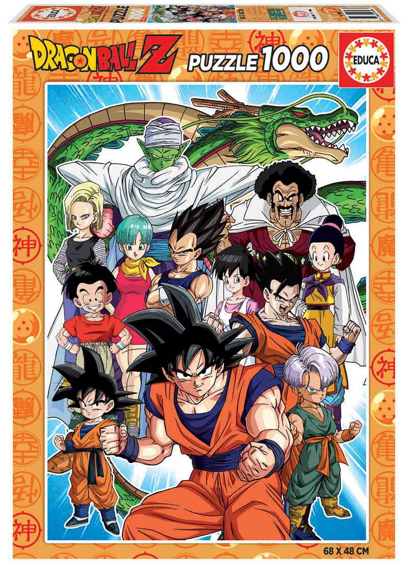 Puzzle Educa Dragon Ball Z de 1000 Piezas