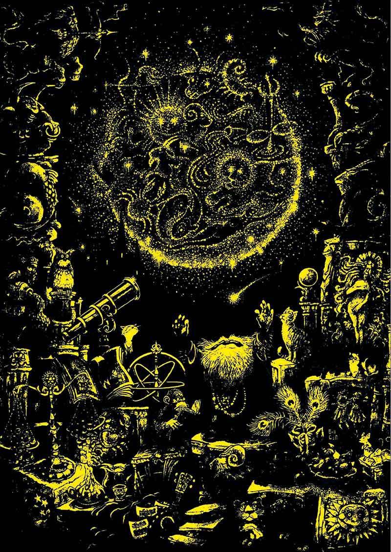 Puzzle Educa El Astrólogo, Neón de 1000 Piezas
