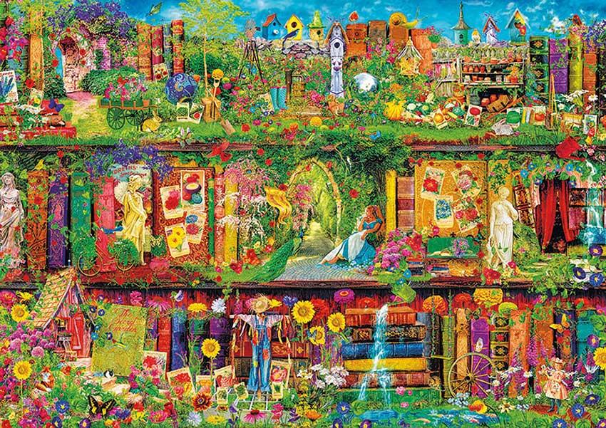 Puzzle Educa El Jardín Secreto 1500 Piezas