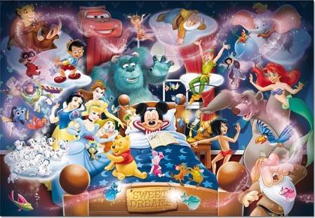 Puzzle Educa El Sueño de Mickey Mouse de 1000 Piezas