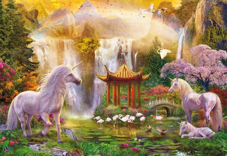 Puzzle Educa El Valle de los Unicornios de 500 Piezas