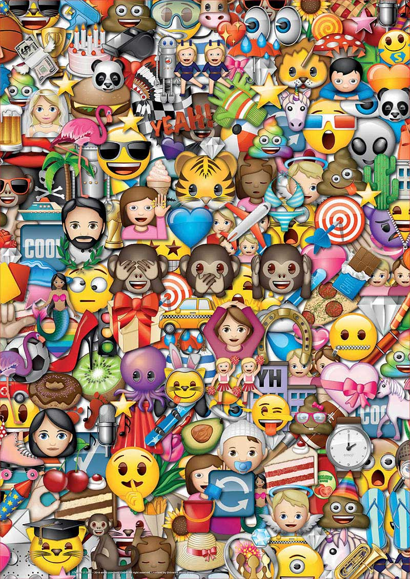 Puzzle Educa Emoji 2 x 500 Piezas