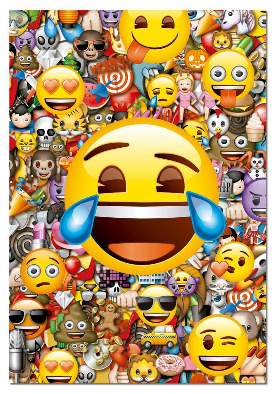 Puzzle Educa Emoticonos de 1000 Piezas