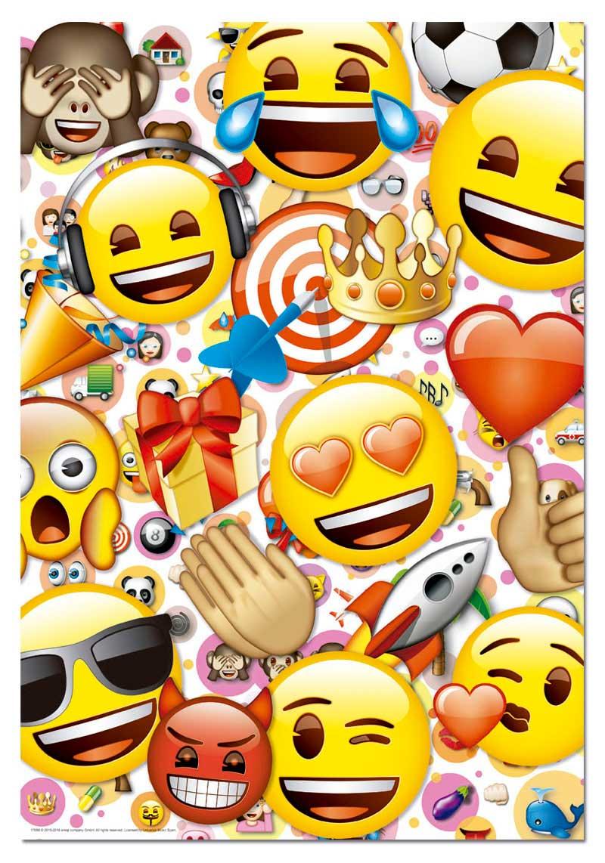 Puzzle Educa Emoticonos de 500 Piezas