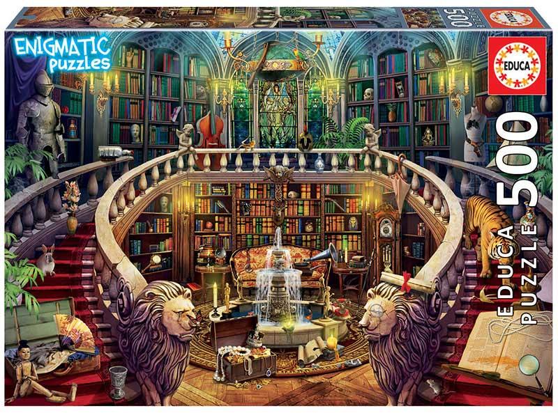 Puzzle Educa Enigmatic Biblioteca de 500 Piezas