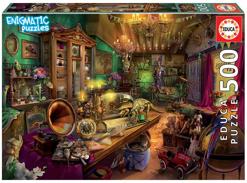 Puzzle Educa Enigmatic Tienda de Antigüedades de 500 Piezas