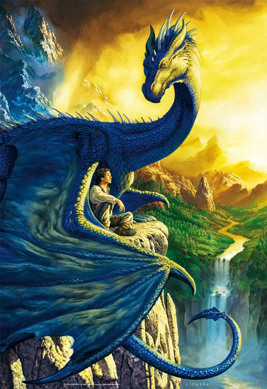 Puzzle Educa Eragon y Saphira de 500 Piezas
