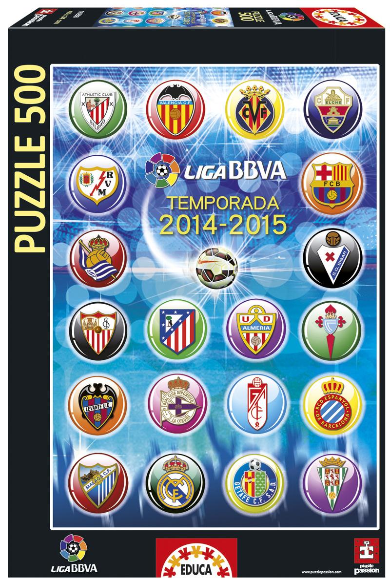 Puzzle Educa Escudos de la Liga Epañola de Fútbol Profesional de