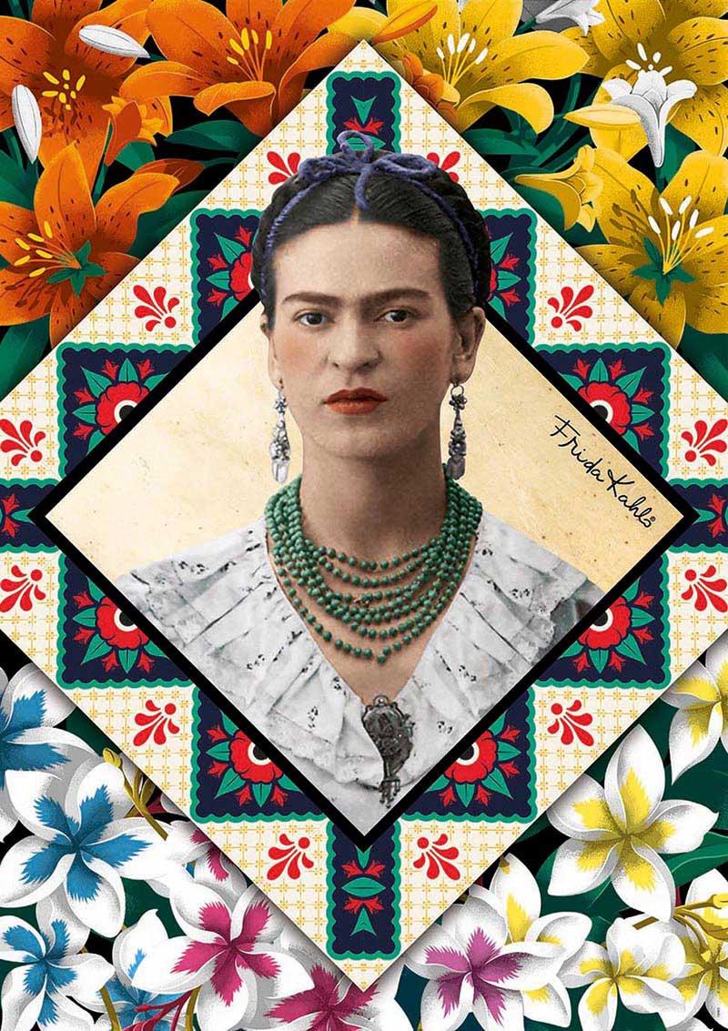 Puzzle Educa Frida Kahlo de 500 Piezas
