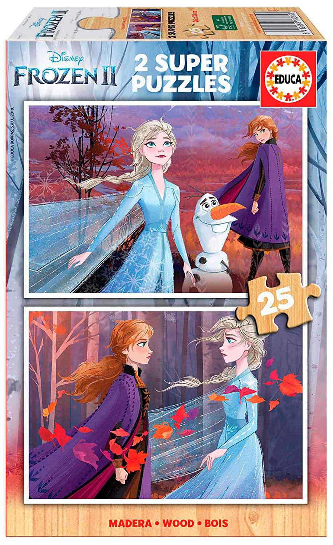 Puzzle Educa Frozen 2 de 2 x 25 Piezas