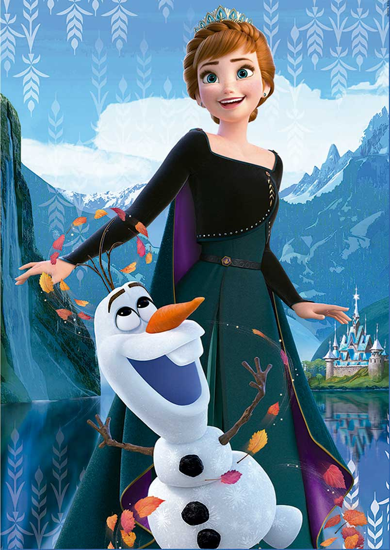 Puzzle Educa Frozen 2 de 2 x 500 Piezas