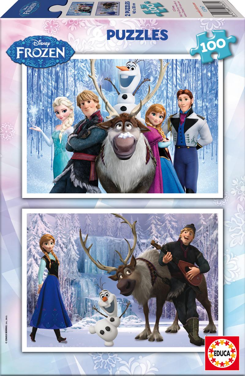 Puzzle Educa Frozen 2 x 100 Piezas