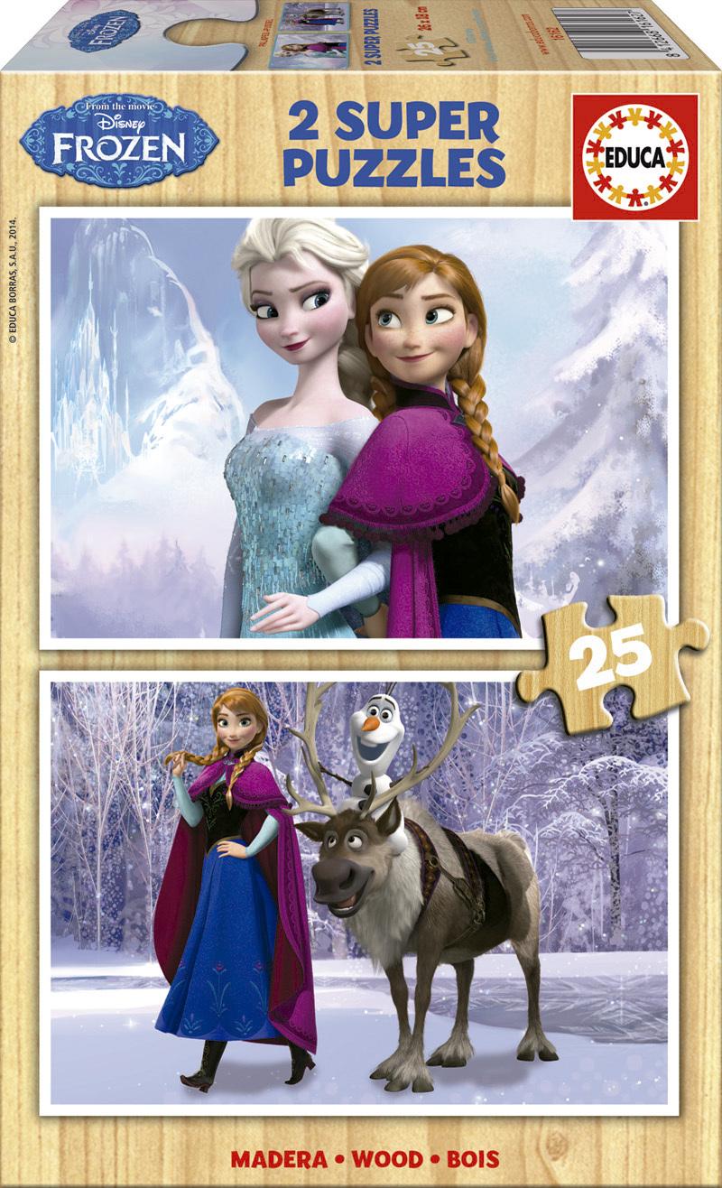 Puzzle Educa Frozen  2 x 25 Piezas